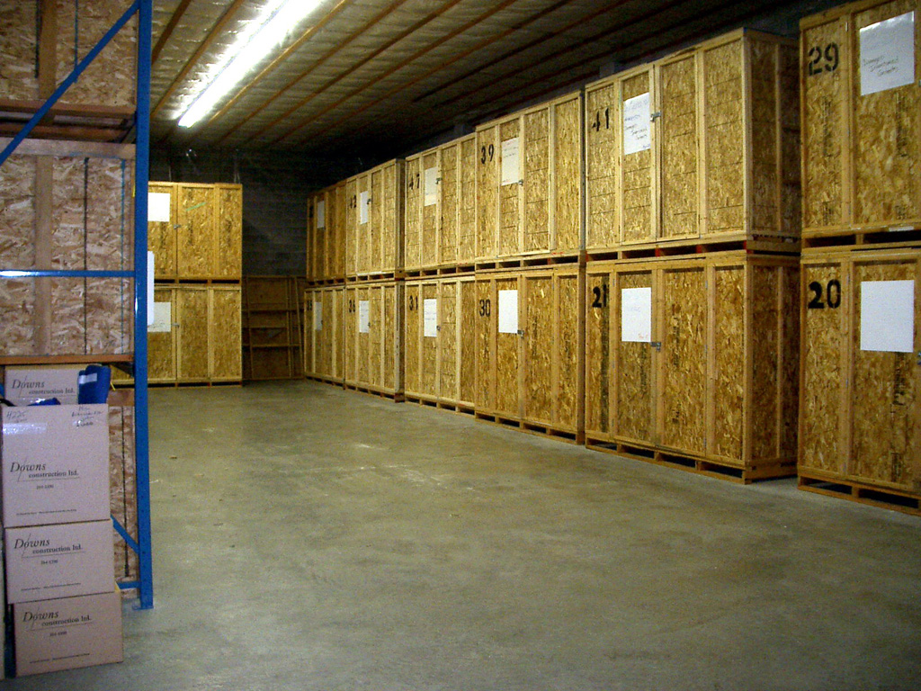 Photos From Our Long Island Storage Warehouse Avatar Relocation