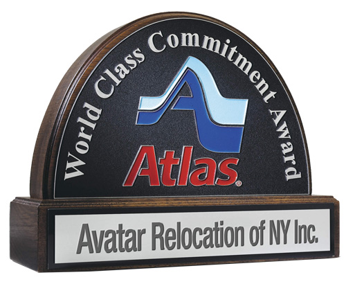 Atlas Van Lines World Class Commitment Award
