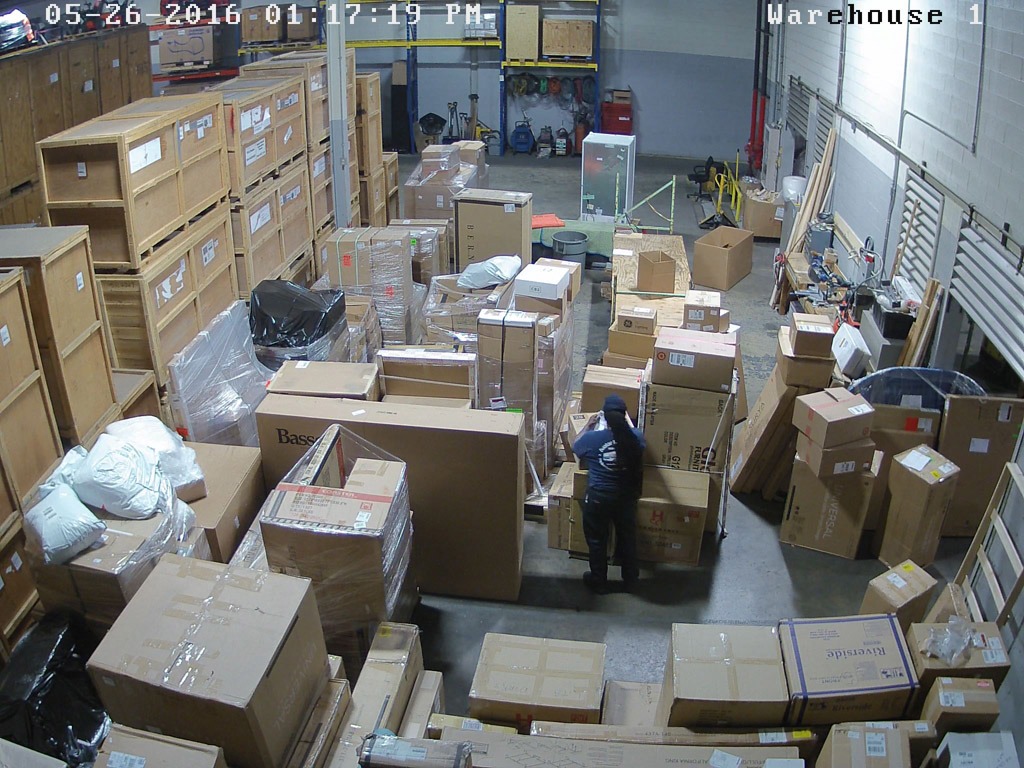 Warehouse camera 1