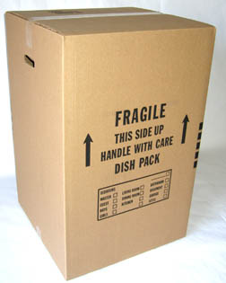 A mover's dish pack