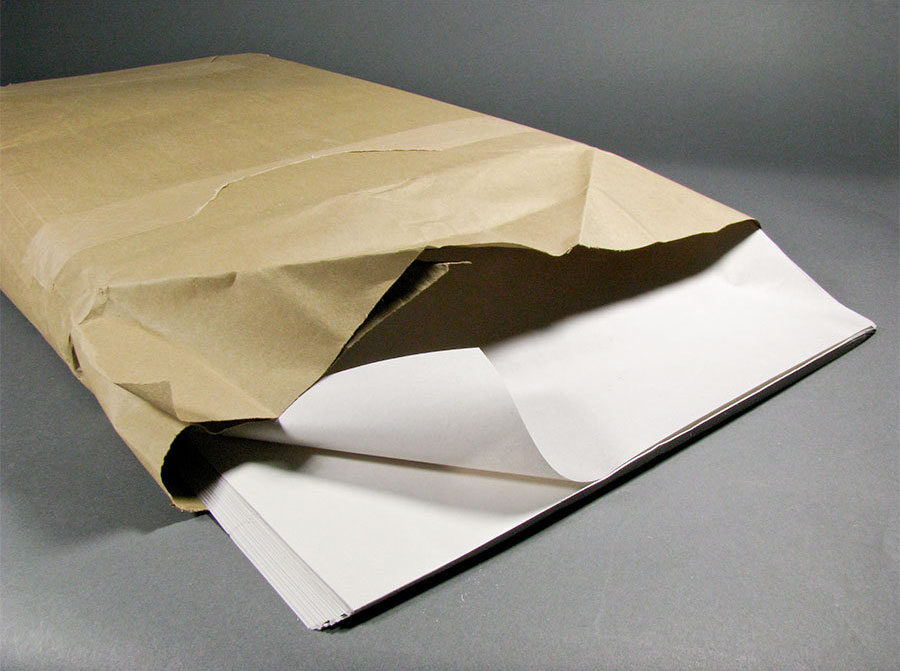 Paper for packing dishes