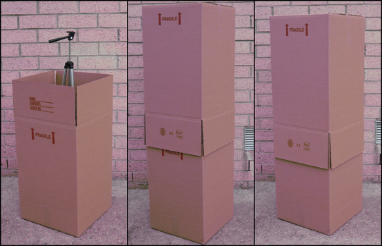 Mover Hi-Hat Carton Box