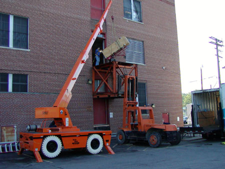 Crane Delivery - Cleveland, OH Central Office