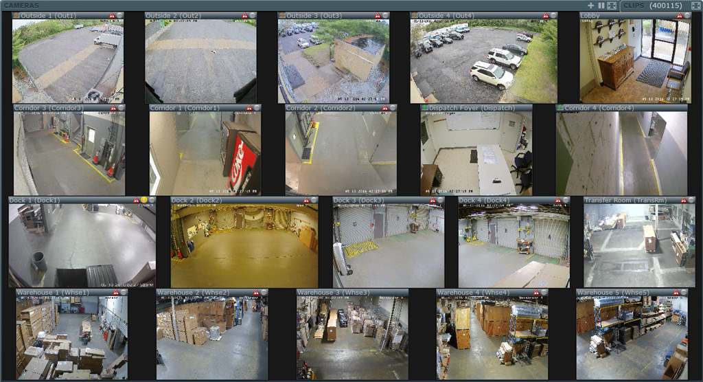 warehouse cameras