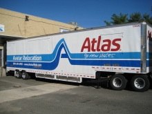 Another of our Atlas Van Lines air-ride trailer units