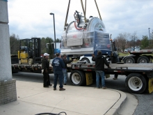 Moving a high value Oxford Active Shield magnetic resonance system