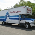 One of our straight truck moving vans