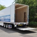 Avatar tuck-away lift gate equipped trailer