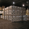 We store commodities and freight in our bulk-storage warehouses