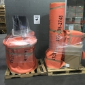 Pad-wrapped medical machinery at our warehouse ready to be loaded on an Avatar Relocation truck