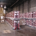 New product staged in our warehouse for shipping