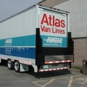 One of our air-ride lift-gate equipped tractor trailers