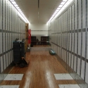 The interior of one of our tractor-trailer units