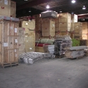 We store trade show, exhibit and display materials in our warehouse